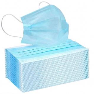 10 x Einmal-Mundschutz 3-lagig Mundschutzmaske Atemschutz Gesichtsmaske Set
