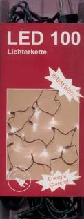 Lichterkette 100LED warmweiß Weihnachtsbaumbeleuchtung Weihnachtsdeko Partylicht