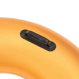 Bestway Schwimmreifen Gold 91cm Schwimmring Schwimmhilfe Badering zwei Griffe - Vorschau 3