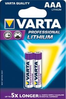 """VARTA Batterien ,, Ultra Lithium"""" 6103301402 Li-batter. 2er Aaa"""