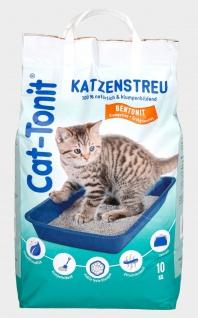 Cat Tonit Katzenstreu 10kg Klumpstreu Haustierstreu Einsteu Streu Haustier