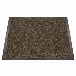 Fußmatte Mono 40x60 braun Schmutzfangmatte Fußabtreter Haushalt wohnen Matte TOP