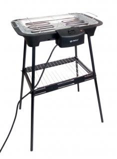 Elektro Standgrill Elektrogrill Tischgrill Barbecue Balkon mit Temperaturregler