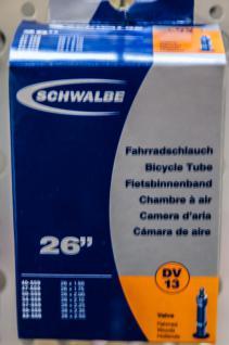 SCHWALBE Fahrradschlauch Schlauch 26 Bl 0.353.635/6