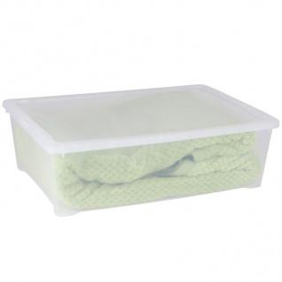 Klarsichtbox Stapelbox Ordnungskiste Aufbewahrungbox Allzweckbox Spielzeugkiste