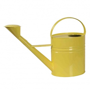 Zinkgießkanne 10 l gelb Stahlblech, verzinkt