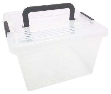 Aufbewahrungsbox mit Deckel Spielzeugkiste Sammelbox Stapelbox Kiste Allzweckbox