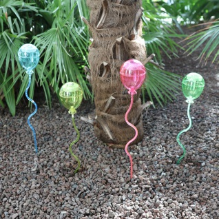 Solar LED Luftballons 4er-Set Solarlampe Partylicht Solarleuchte Deko Garten