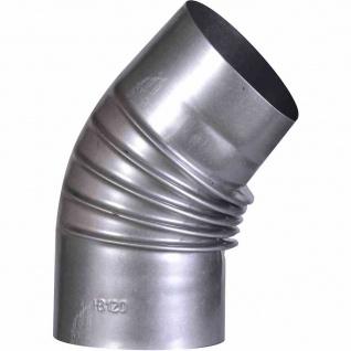 Ofenrohrbogen 45° FALØ130mm Ofenrohr Rauchrohr Abgasrohr Kaminrohr Kamin Rohr