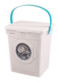 Waschpulverbox Waschmittelbox Eimer 5 Liter Waschmitteldose Waschmittelbehälter