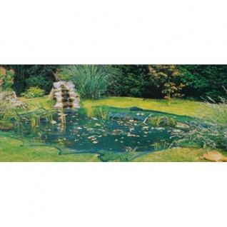 Vogelschutznetz 4x5m grün Pflanzenschutznetz Gartennetz Teichnetz Laubnetz