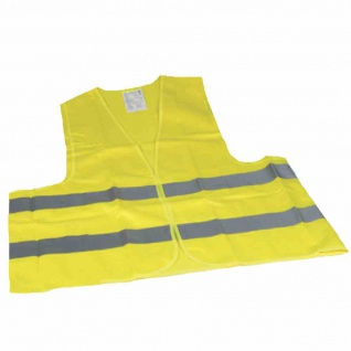 Warnweste gelb EN ISO 20471