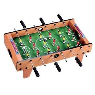 Mini Tisch-Kicker 69x37cm Fußballkicker Tischfußball Soccer Kicker Spieltisch