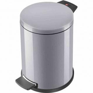 Mülleimer Solid M 12l silber Abfalleimer Abfallsammler Müllbehälter Küche Müll
