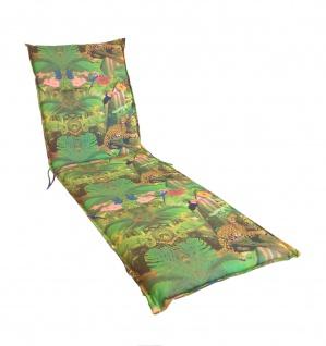Sonnenliegen-Auflage 195x62cm Polsterauflage Liegenauflage Sitzpolster Kissen