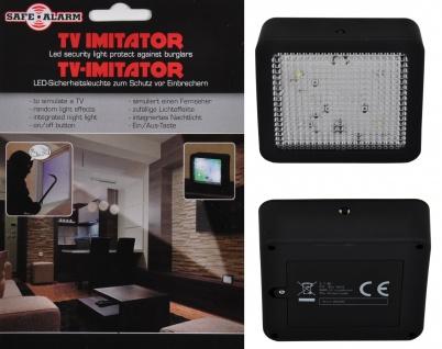 LED-TV-Imitator Fernsehattrappe Simulator Nachtlicht Lichteffekt Abschreckung