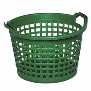 Gartenkorb Kunststoff 50 kg Inhalt, grün, engmaschig