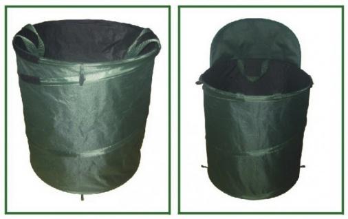 Garten Abfallbehälter 154 Liter Gartenabfallsack Laubsammler Abfallsack Laubsack - Vorschau 3