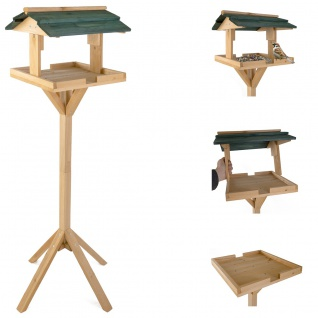 Vogelfutterhaus Vogelhäuschen Futterkrippe Futterstation Vogelfutterstation Neu