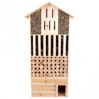 XXL Insektenhotel 118x58x25 cm Igelhaus Insektenpension Nisthotel Gartendeko
