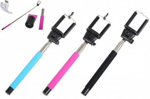 Universal Selfie Sticks versch Farben Handyhalter Bluetooth Selfie Foto Teleskop