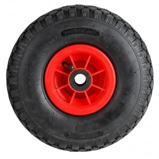 Ersatzreifen für Sackkarre Schubkarre Baukarre Bollerwagen Ersatzrad Reifen Rad - Vorschau 2