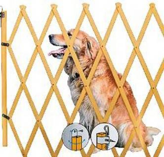 Hundeabsperrgitter natur - Vorschau 1