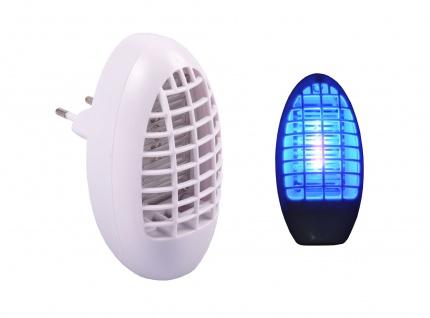Elektro Mückenstecker mit Blaulicht Mückenfrei Mückenschutz Steckdose Insekten