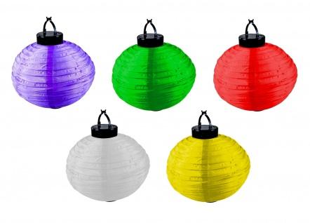 Solarlampion Kunststoff verschiedene Farben