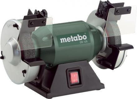 """Metabo DOPPELSCHLEIFER 200-Watt-Doppelschleifmaschine ,, DS 125"""" 619125000 Ds 125"""