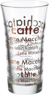 "montana: MON Latte Macchiato Glas ,,:enjoy"" 65038 Becher 30cl Enjoy"