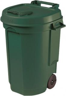 Kein Eintrag GARTENMüLLTONNE Abfallbehälter 10633 110 Liter Grün