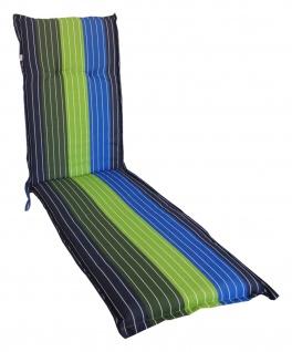 Relax-Auflage 180x50cm Polsterauflage Liegenauflage Sitzpolster Gartenliege