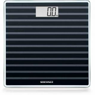 Personenwaage 27x27cm Waage Körperwaage Wiegen BMI Badzubehör Analysewaage TOP
