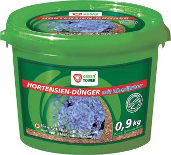 GREEN TOWER GT Hortensien-Dünger Hortensien-dÜnger+blaufÄrb.0, 9 Kg