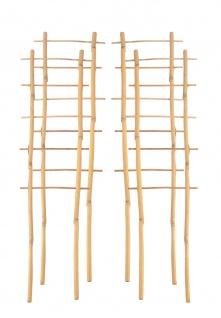 4x Bambusspalier 60cm Rankhilfe Blumenstütze Rankgitter Kletterhilfe Spalier
