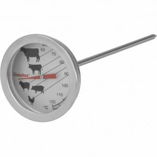 Braten-/Grillthermometer Edelstahl