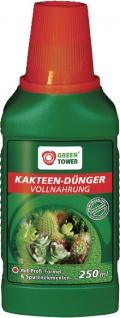 GREEN TOWER GT Kakteendünger Kakteen DÜnger 250 Ml