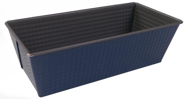 Königskuchenform 25cm blau/silber Antihaftbeschichtet Kuchenform Backblech