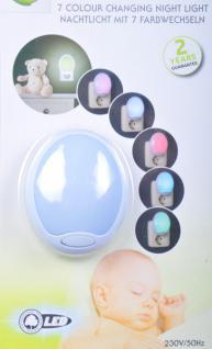 LED Nachtlicht mit 7 Farbwechseln