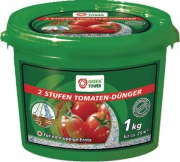 """GREEN TOWER GT Tomaten-Dünger ,, 2 Stufen"""" 2 Stufen TomatendÜnger 1kg Eimer"""
