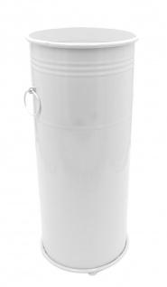 Metall Regenschirmständer weiß oder schwarz Schirmhalter Schirmständer Garderobe - Vorschau 2