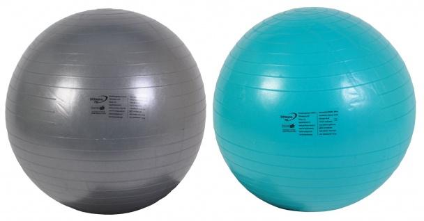 Gymnastikball 65 cm inkl. Pumpe Balancetraining Therapie Fitness Sport Rücken