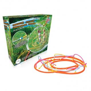 Schlauch-Wassersprinkler Wasserspiel Rasensprenger Gartenschlauch Sprühschlauch