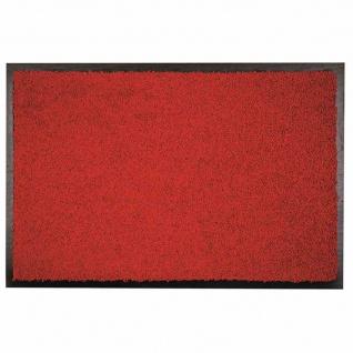 Fußmatte Zanzibar rot 60x120cm Schmutzfangmatte Bodenmatten Fußabtreter Haushalt