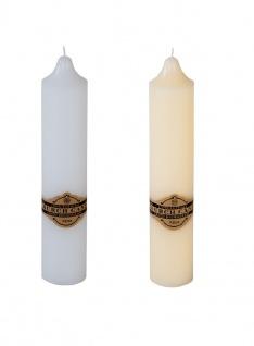 Altarkerzen 38x7, 5cm Stumpenkerze Kaminkerze Laternenkerze Altarkerze Kerzen