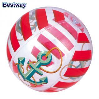 Bestway Kinder Strandset 3 tlg. Strandspielzeug Wasserball Schwimmring Matratze - Vorschau 3