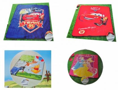 Disney Kinder Picknickdecke versch. Motive Picknick Stranddecke Krabbeldecke
