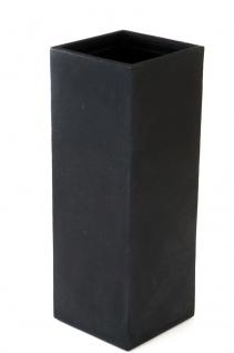 Kubus Säulentopf 80cm Pflanzkasten Blumentopf Pflanztopf Pflanzkübel Pflanztrog