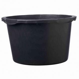 Mörtelkübel 45 L schwarz mit Literskala